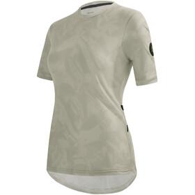 Santini Delta Gravel Tech T-Shirt Women, Plateado